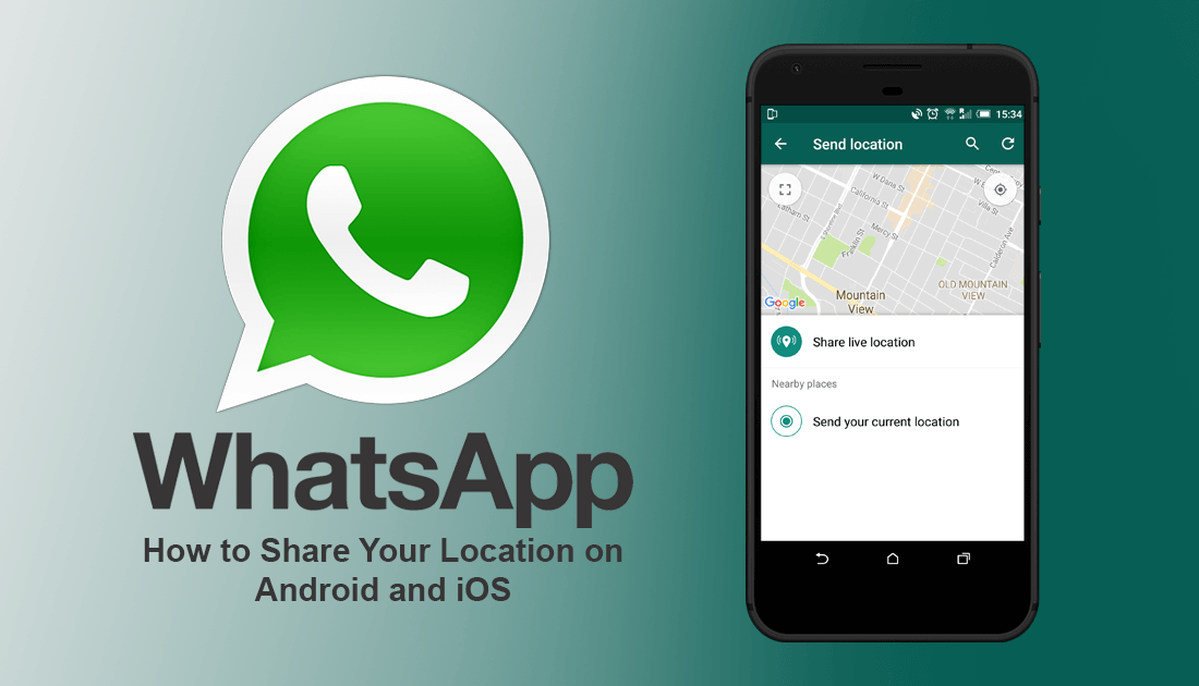How to Share Your Location With People on WhatsApp. Your