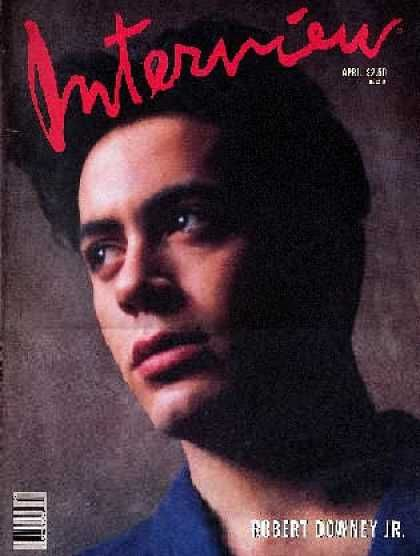 Interview Covers - Robert Downey Jr. ~Repinned Via Countess Sykora