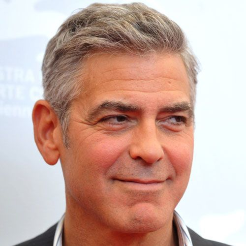 George Clooney Haircut Comb Over George Clooney Haircut Mens Hairstyles George Clooney