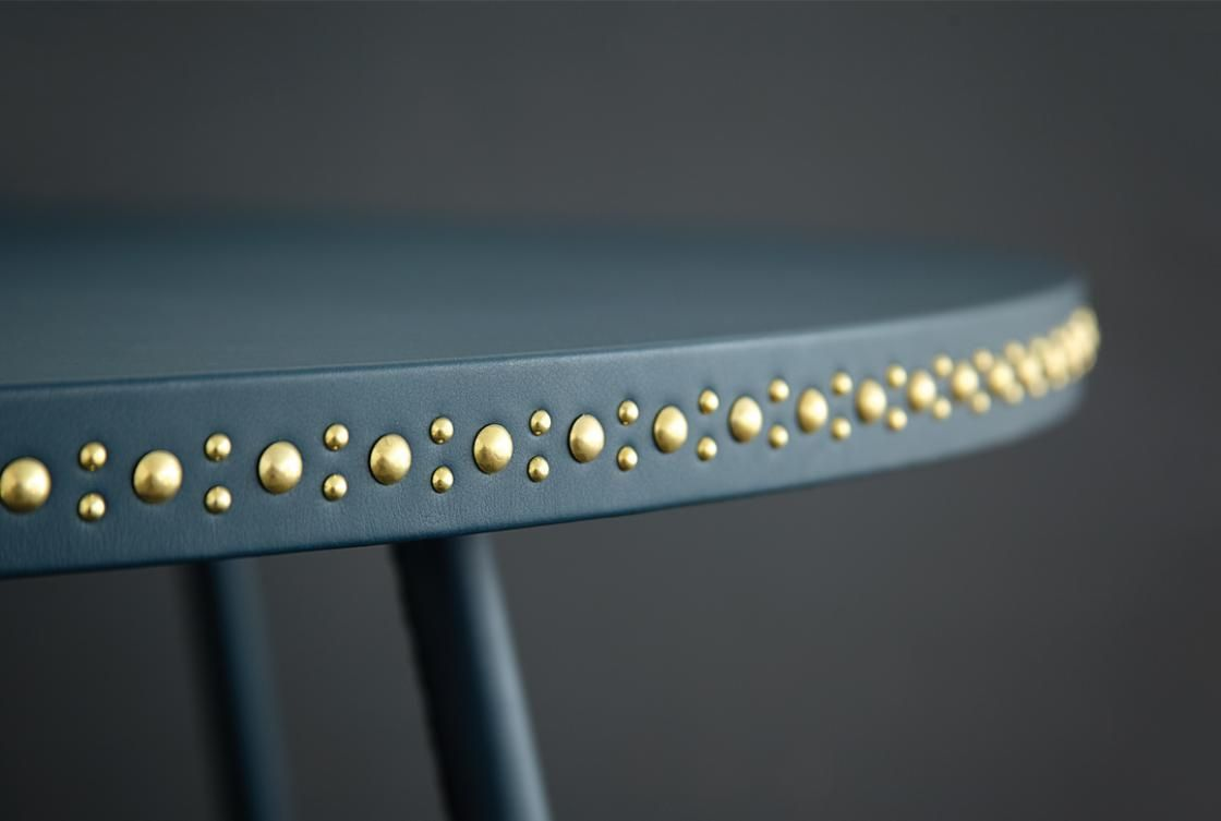 Bethan Gray - stud detailing on table trim