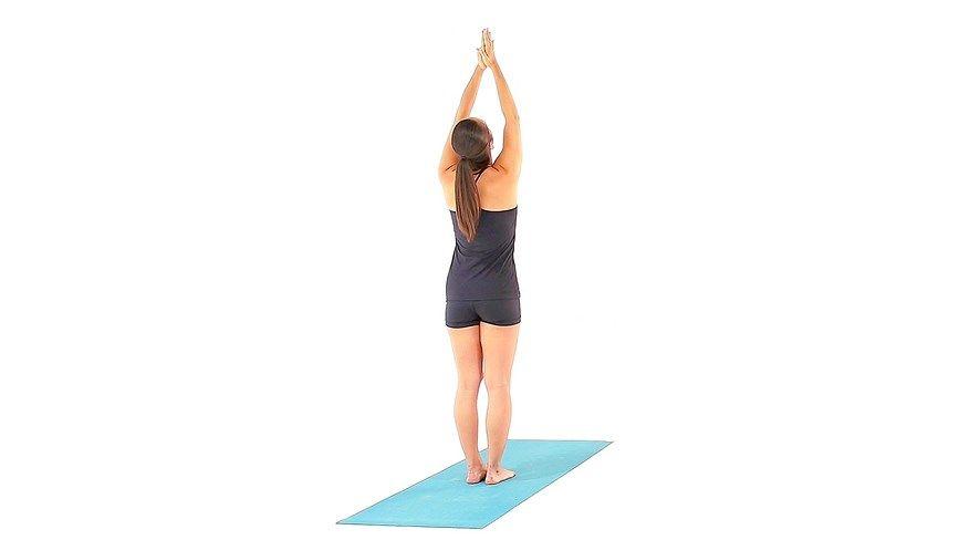 Standing Arms Up Pose - Urdvha Hastasana - MSN Health & Fitness
