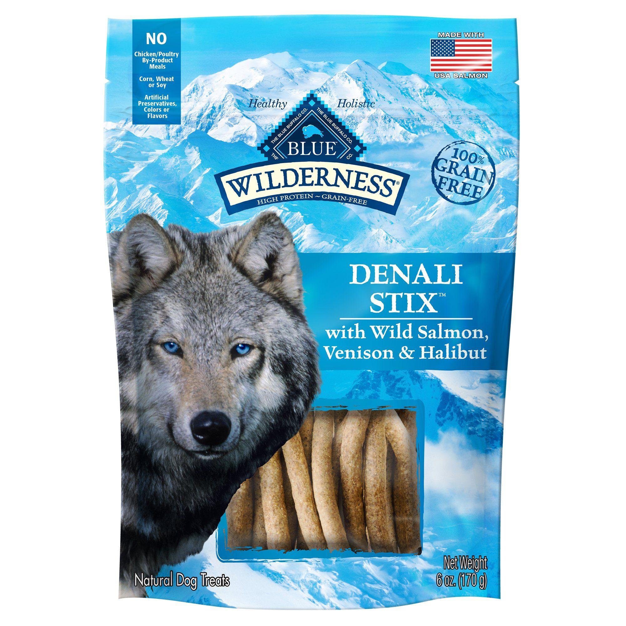 Blue Buffalo Blue Wilderness Denali Dinner Stix Dog Treats 6 Oz Petco Natural Dog Treats Blue Buffalo Dog Treats