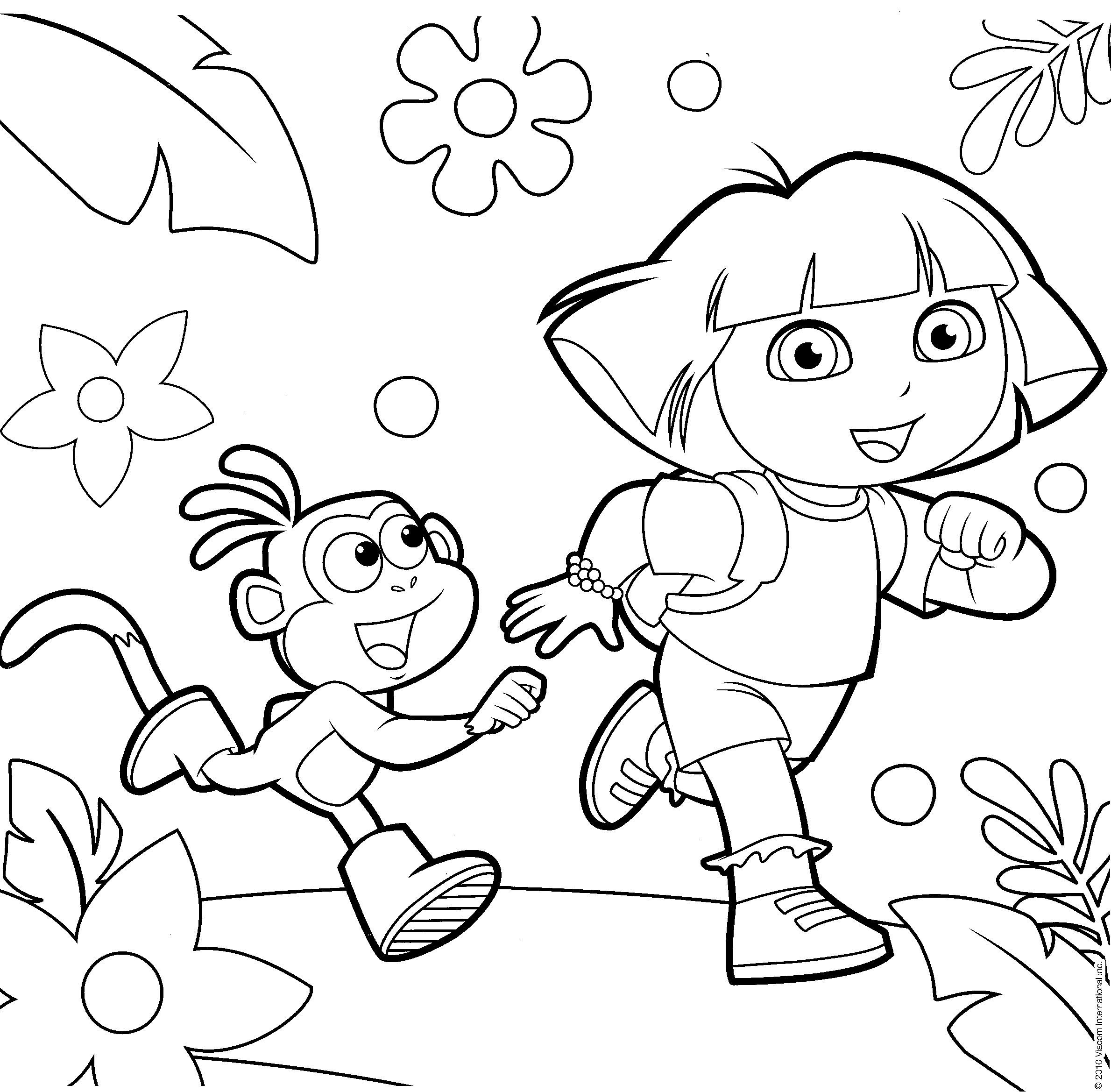69a58fdffa3708cb5c5d28401c7ea728 » Dora Picture For Kids To Color