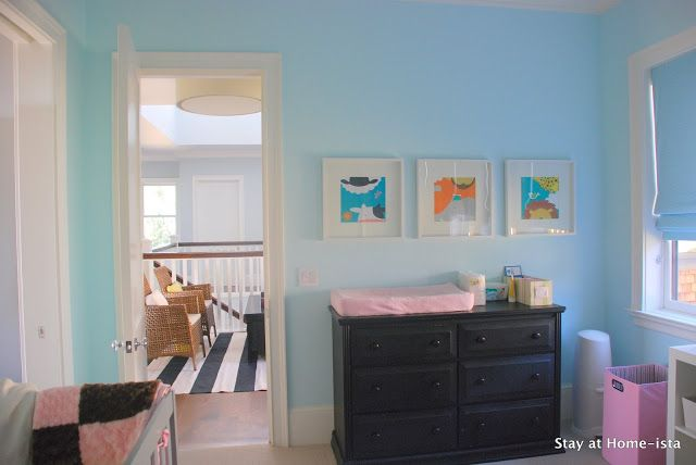Stay At Home Ista Benjamin Moore Barely Teal