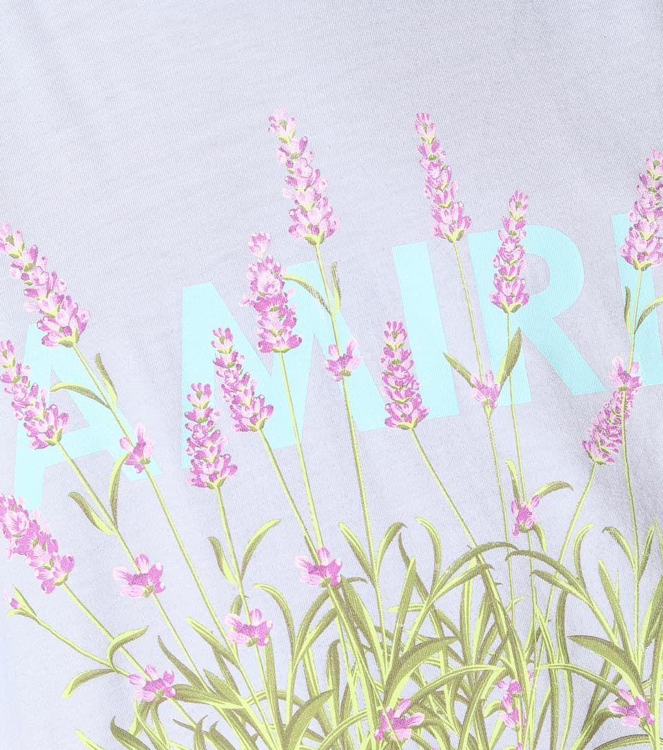 Flower Dreamer Printed Lavender Purple Cotton Jersey T Shirt Sponsored Printed Lavender Flower Adult Costume Ideas Diy Cotton Tshirt The Dreamers