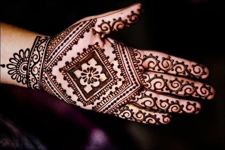 Simple Mehndi For Right Hand : Pakistani mehndi design designs for wedding indian