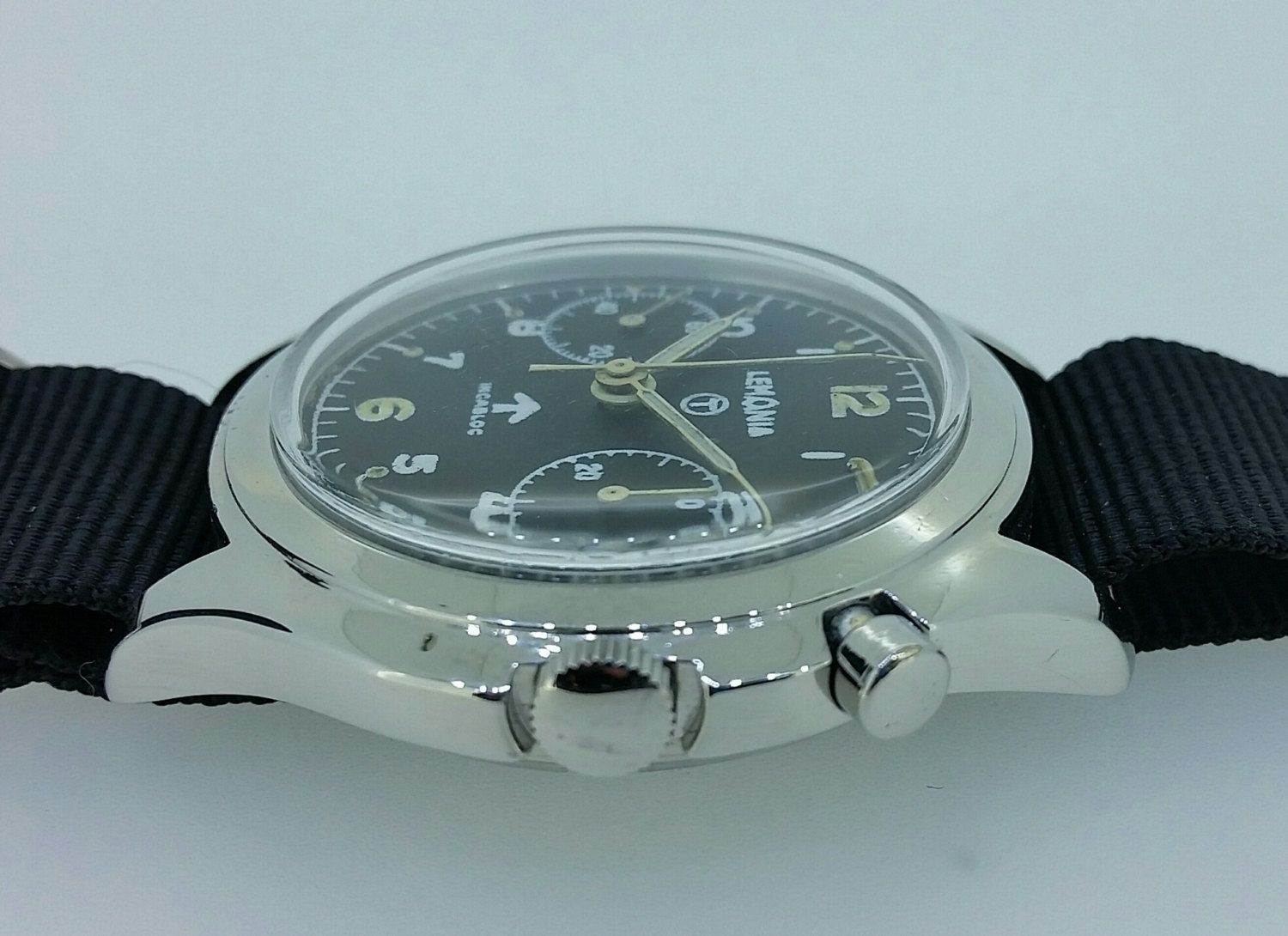 New to Pilbrows on Etsy: Lemania RAF military watch (4500.00 NZD)