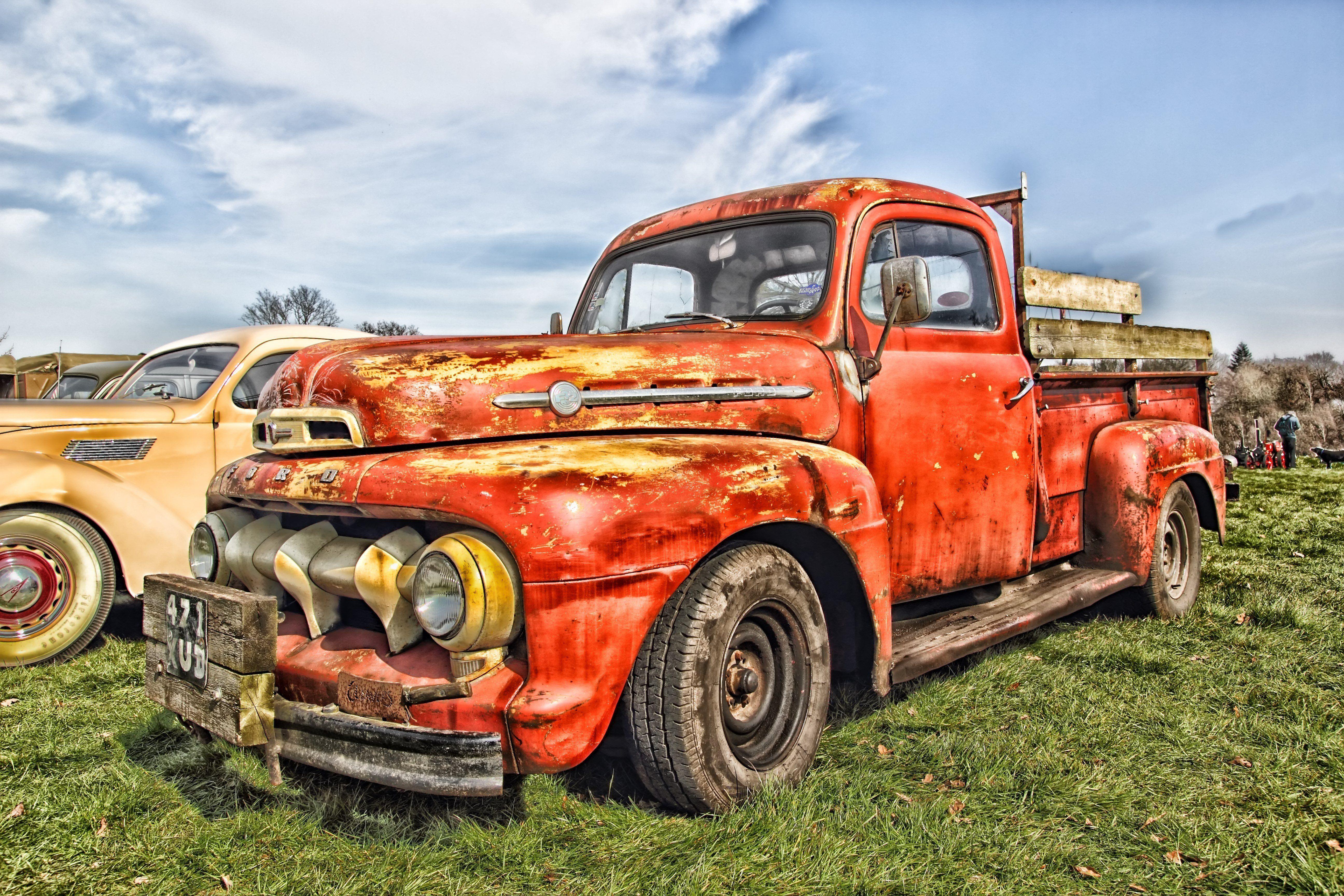 Group Of Wallpaper Old Cars Trucks