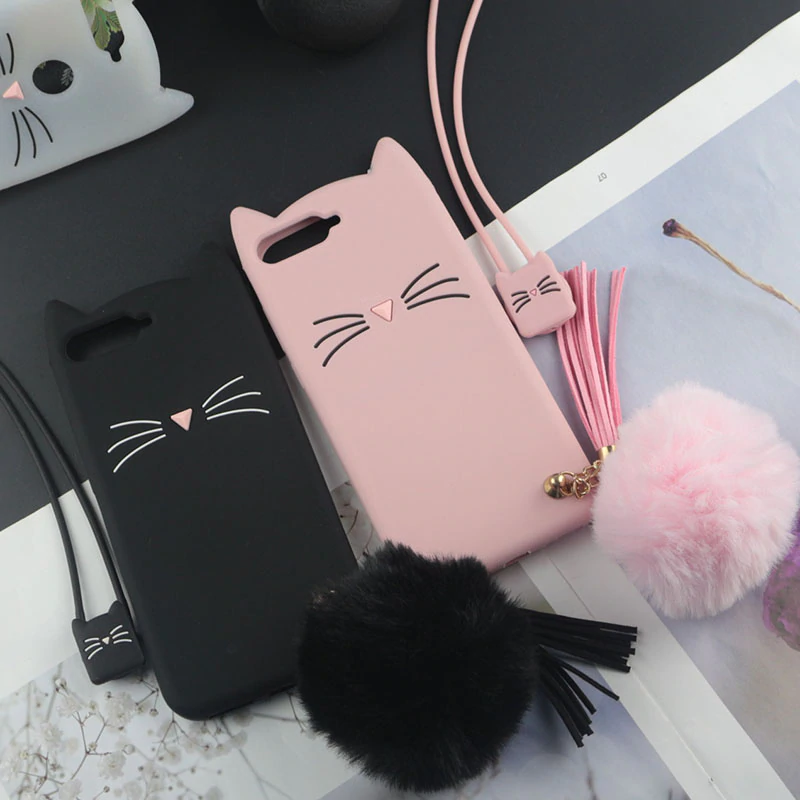 Cute 3D Cartoon Silicon Case For Oppo A3 A5 A3s Cases