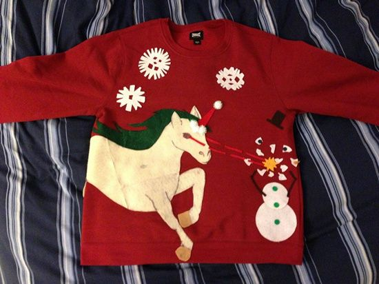 Diy ugly christmas sweater ideas ugliest christmas sweaters ugly diy ugly christmas sweater ideas solutioingenieria Image collections