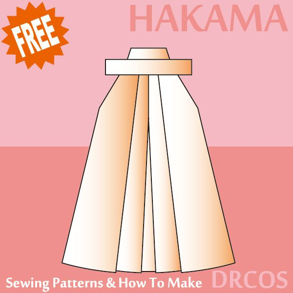hakama sewing patterns & how to make   Юбки   Pinterest   Nähen
