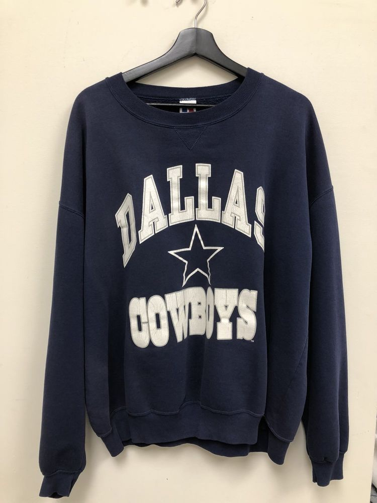 quality design e779b 3ae91 Vintage Russell Athletics NFL Dallas Cowboys Crewneck ...