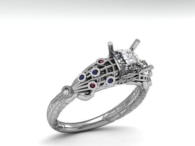 Custom Made Spiderman Ring 5500 8000 Wedding Ideas