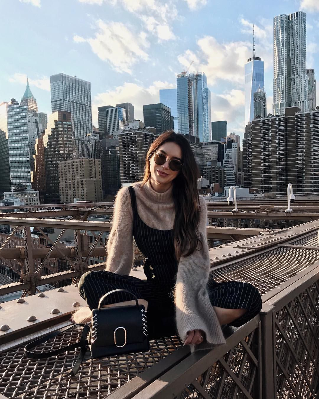 "Brittany Xavier on Instagram: ""Such a gorgeous day in the city 🏙"", #Brittany #City #Day #gorgeous #Instagram #newyorkwinter #tagskey #Xavier"