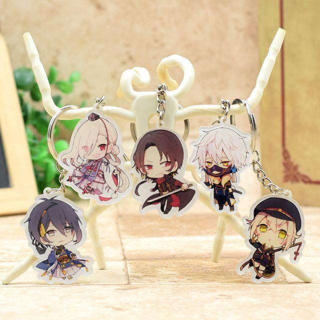 Touken Ranbu Online Acrylic Keychain Cute Japanese Pendant ...