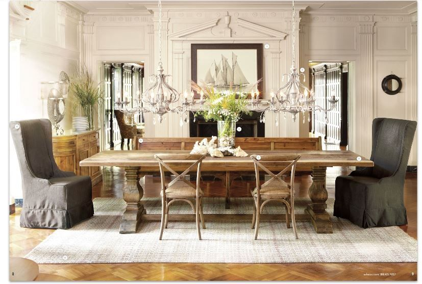 Arhaus Kitchen Table Chandeliers Design Large Dining