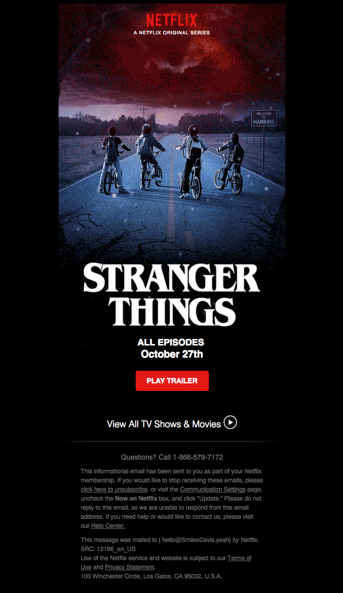 Coming Friday October 27th Stranger Things 2 Marketing Empresarial Marketing Empresarial