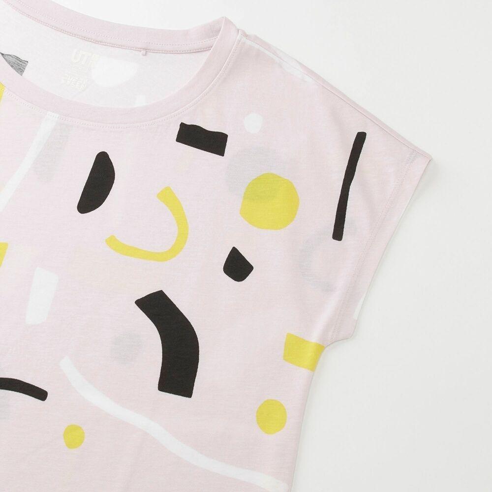 b2949f010 WOMEN Super Geometric Dusen Dusen UT (Short Sleeve Graphic T-Shirt ...