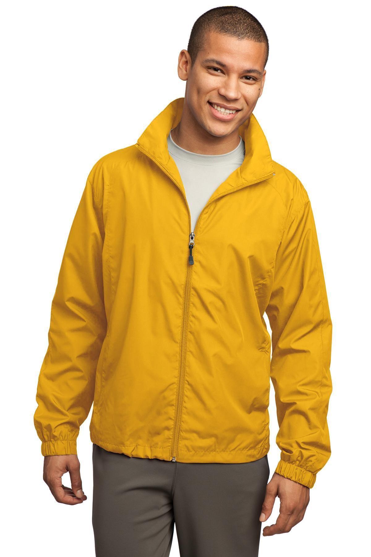 SportTek FullZip Wind Jacket JST70 Gold Products