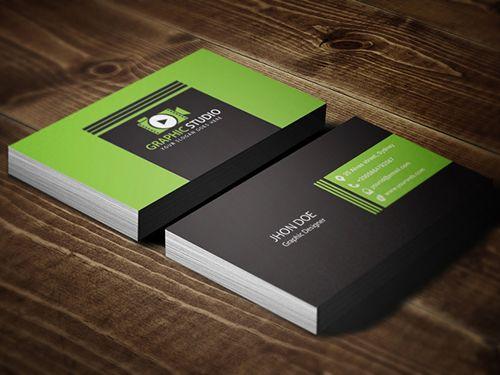 Corporate Business Card Template #businesscards ...
