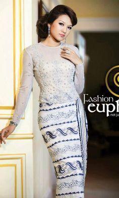 Myanmar fashion dress 2018 movie