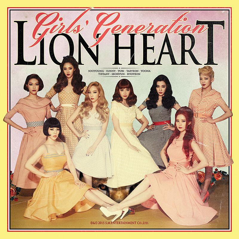 GIRLS'GENERATION - Lion Heart