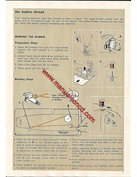 Singer  Zig Zag Sewing Machine Instruction Manual FreeArm