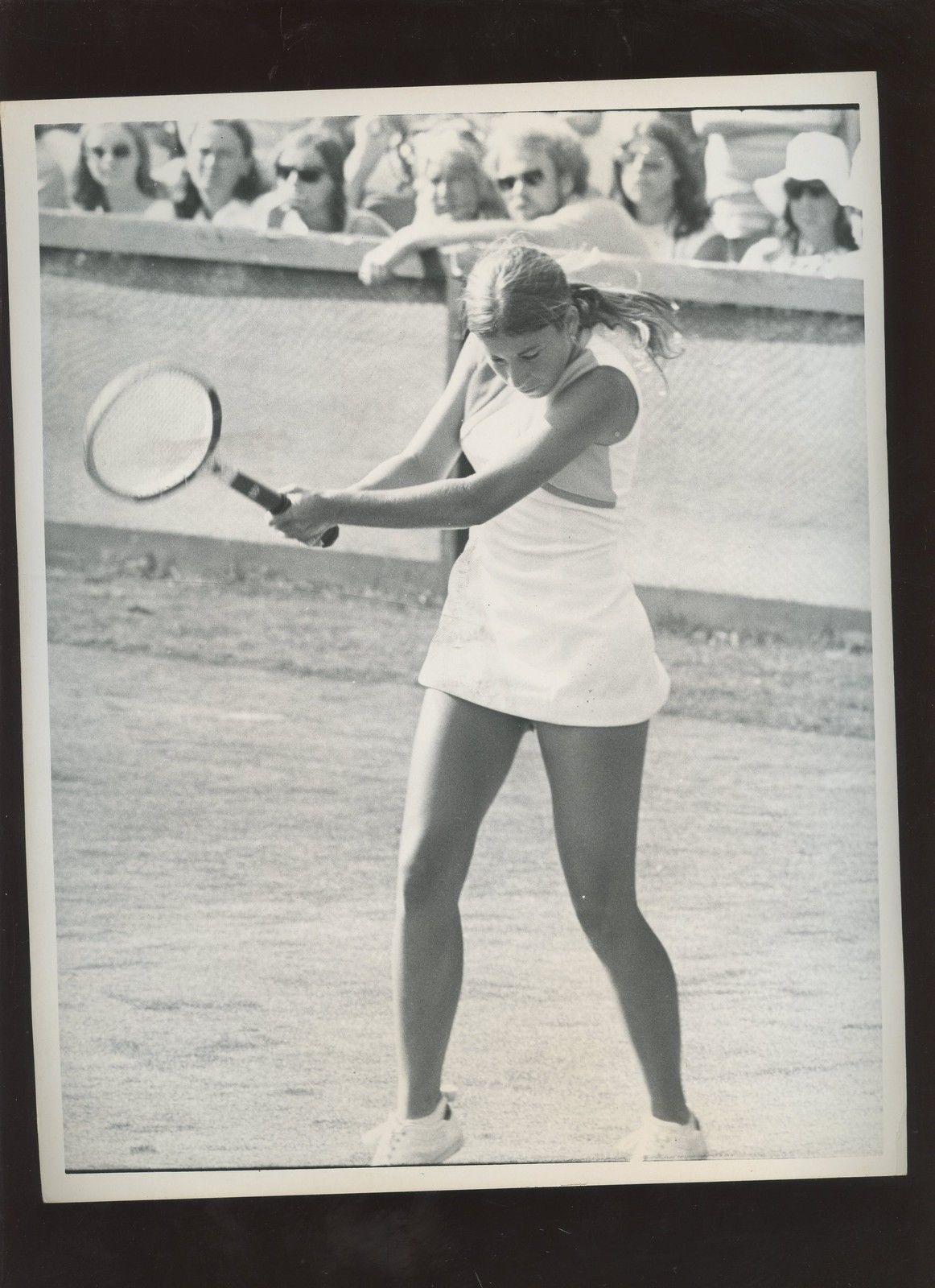 Original September 28 1972 Chris Evert Tennis Wire Photo Price ...