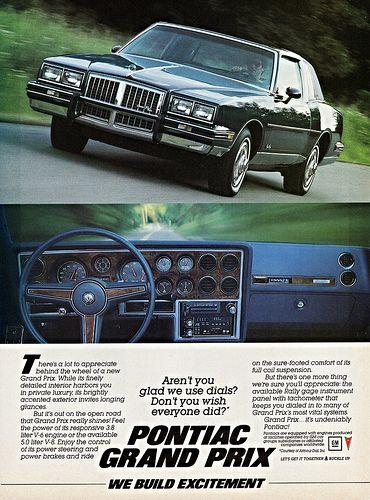 1985 Pontiac Grand Prix Pontiac Grand Prix Pontiac Grand Prix