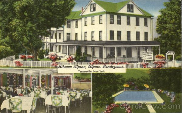 Cold Spring Hotel Tannersville Ny Now Abandoned In Ruin