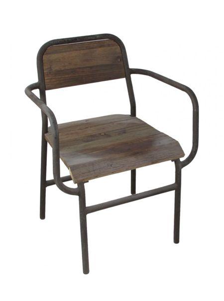 Superb Industrial Arm Chair | SHOP NECTAR   High Falls, NY