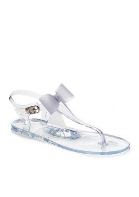 d79d64d35 Crown   Ivy™ Women s Jelly Bow Sandals - Clear - 7M