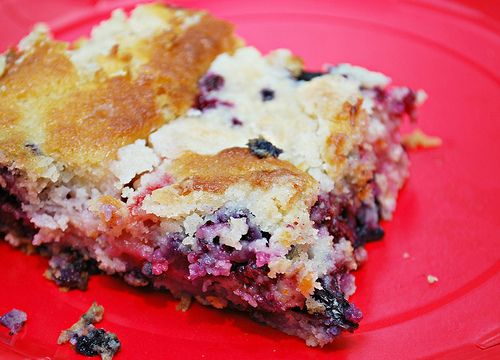 Going back to this Mixed Berry Picnic Cake recipe, it's definitely a great recipe as is and I'm thinking of making it in muffin or cupcake form soon. You can make this in advance and because it's one of those mix, pour, & bake cakes that doesn't require any frosting, it's easy to bring along to any picnic or potluck. You can even play around with the fruit used and use just 1 1/2 cups of one specific fruit or any combination of fruits you prefer.