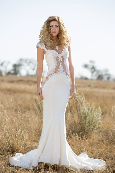 Pallas Couture Angelika Gown Kerry Rocks Carved Bone Necklace