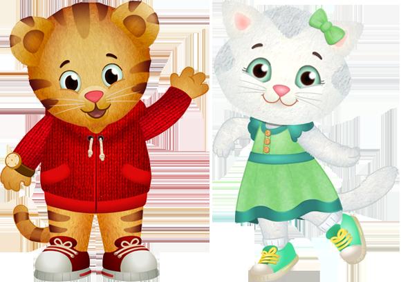 Daniel Tiger And Katerina Kitty Cat Daniel Tiger Kitty Cats