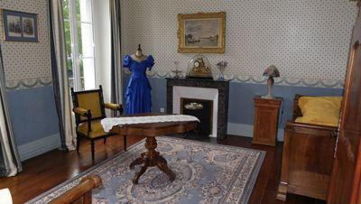 salon de la propriété avec chambres d'hôtes à vendre près de gien