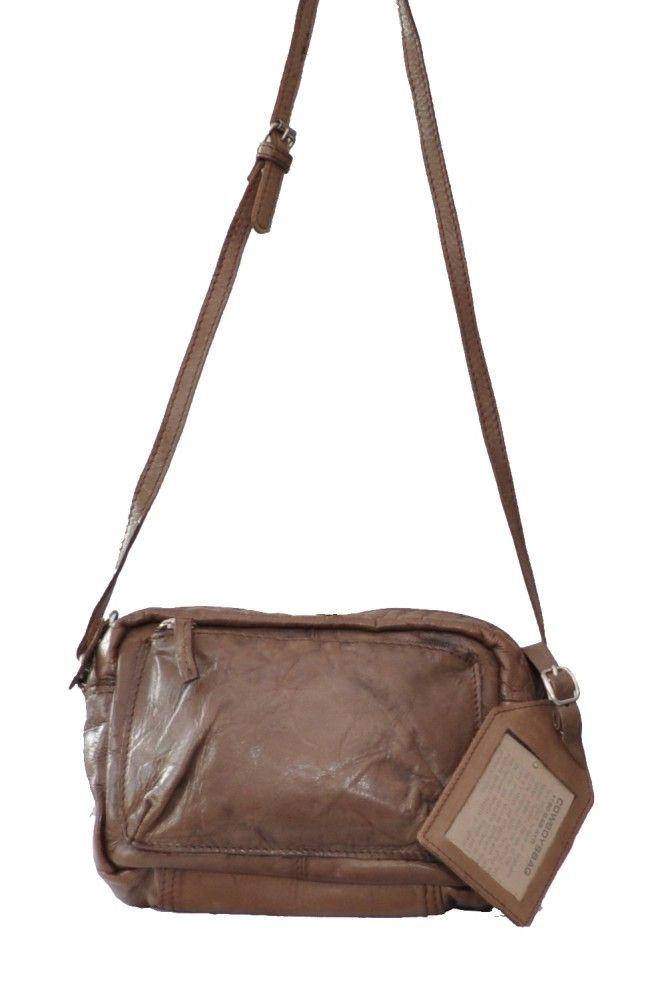 Cowboysbag Umhängetasche Ayr Ledertasche In Farbe Braun Leder Taschen