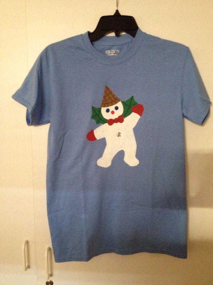 Mr Bingle shirt I made