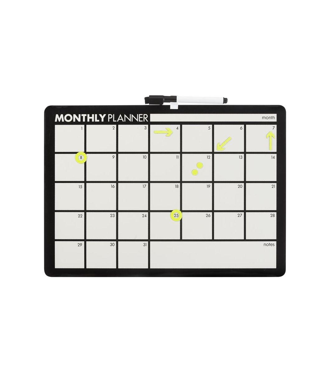 Fonkelnieuw whiteboard maandplanner - HEMA (met afbeeldingen) | Maandplanner MD-62