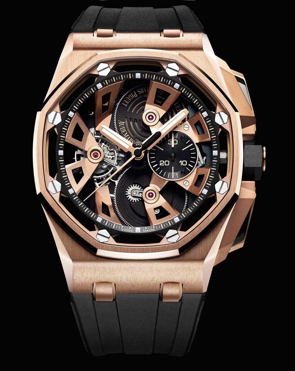 4055d83dd6b Audemars Piguet Royal Oak Offshore Tourbillon Chronograph 25th Anniversary  Watches
