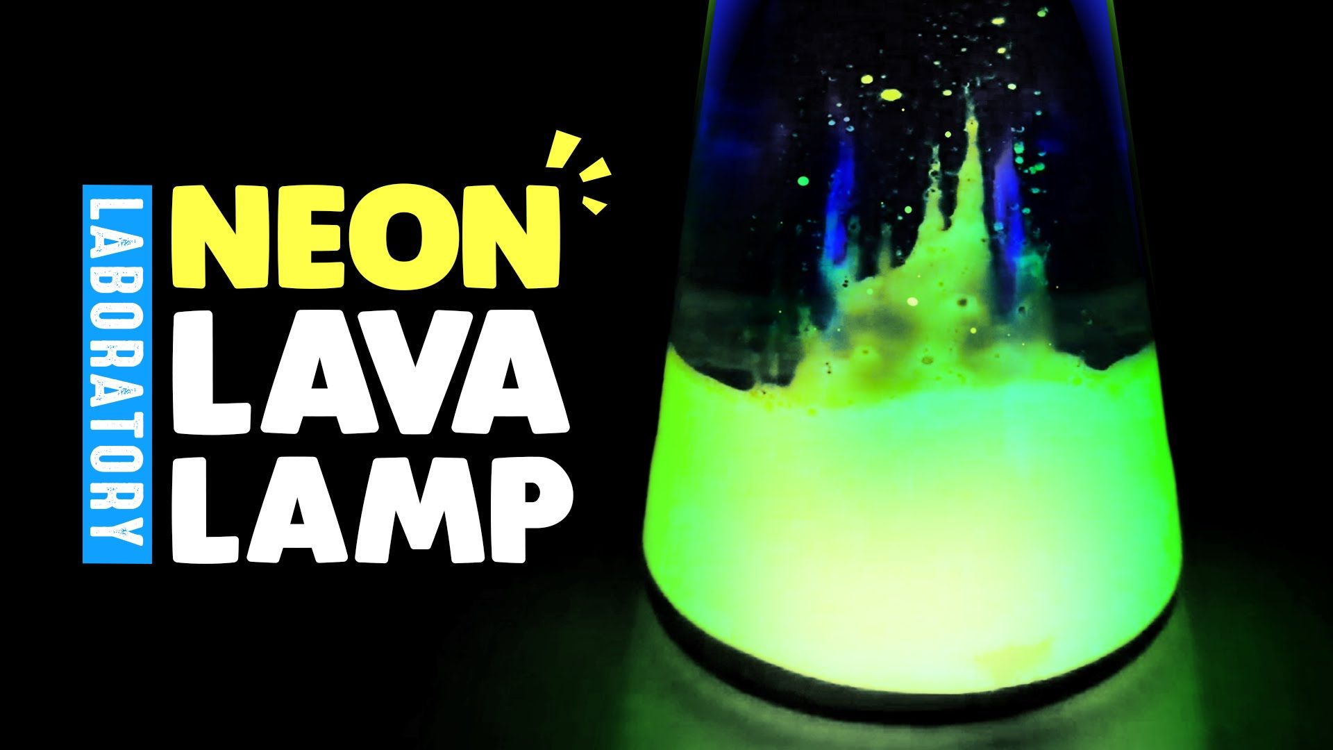 How To Make A Homemade Neon Lava Lamp Laboratory Summer Diy Projects Lava Lamp For Kids Summer Diy