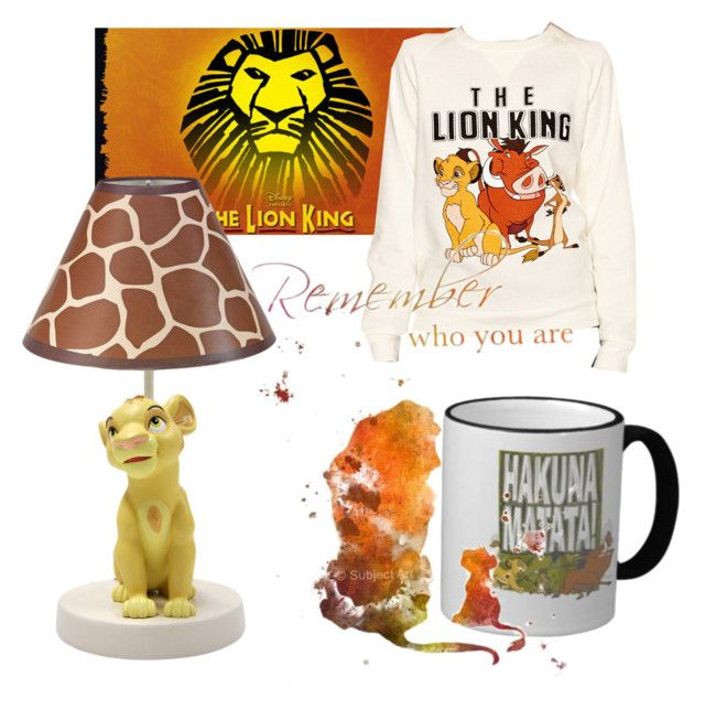 """""""The lion king"""" by broadwaymaggot ❤ liked on Polyvore featuring art"""