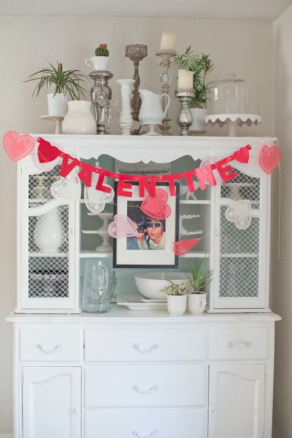 Vintage And Handmade Inspired Valentine S Day Decorations
