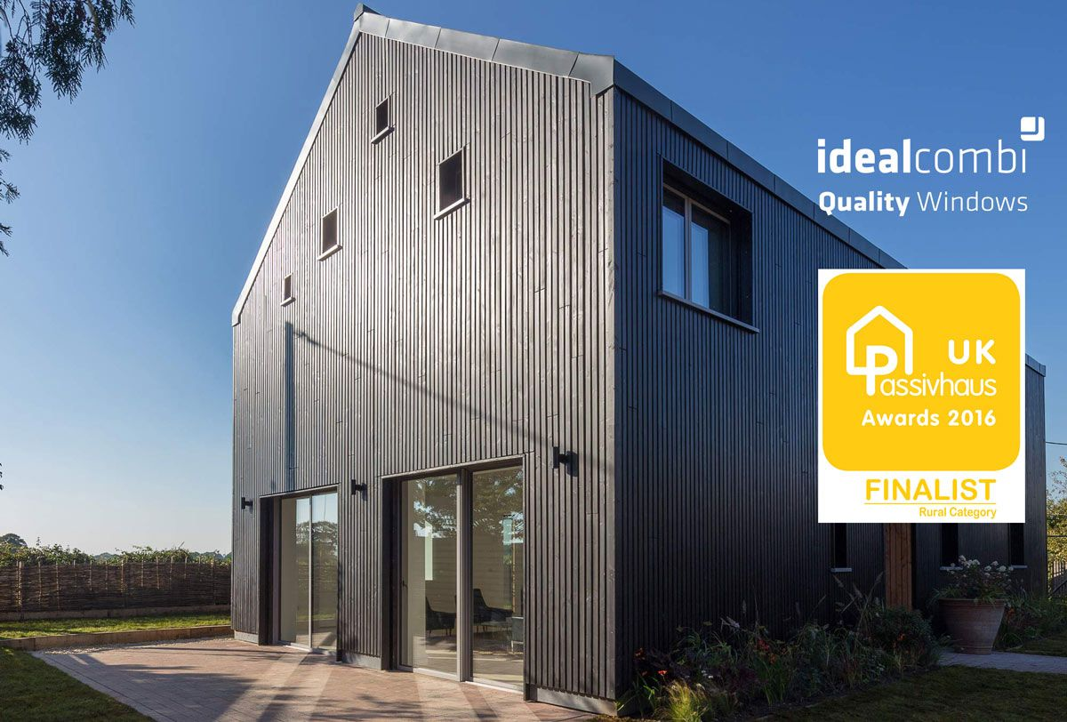 idealcombi windows and doors shortlisted for the passive house trust