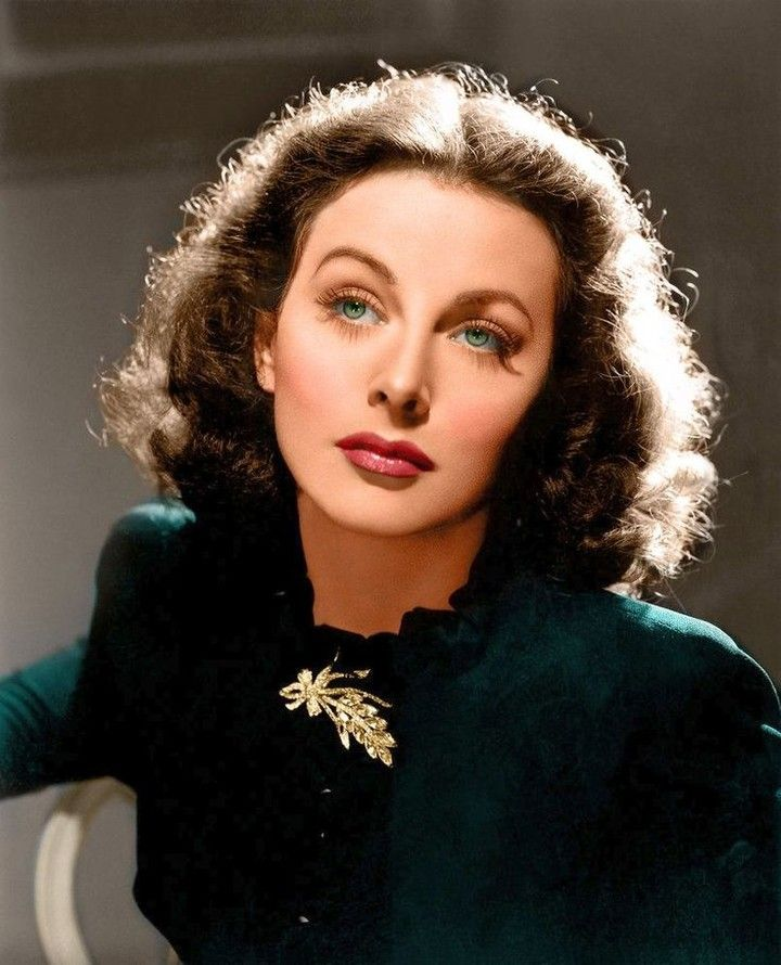 """Bésame Cosmetics on Instagram: """"Our #WomanCrushWednesday this week is actress and inventor #HedyLamarr! She was often called"""