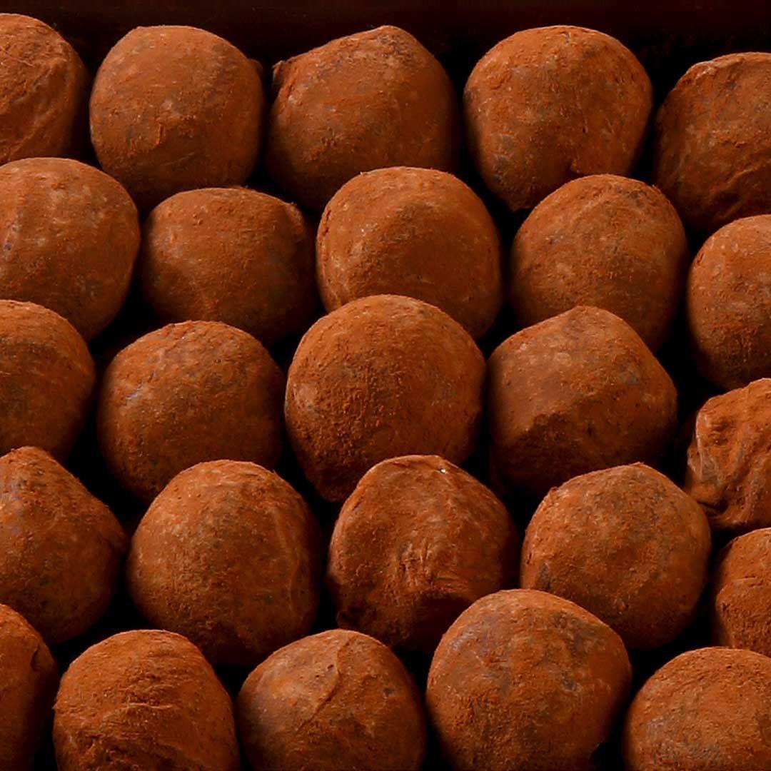 Palomas - Truffes Chocolat Noir #truffesauchocolat
