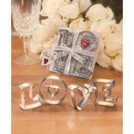 Koekjesvormen LOVE letters
