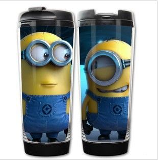 Best value for money!18 styles Despicable Me 2 Minion cup starbucks anime cup cute travel mug starbucks thermos minion mug $13.00