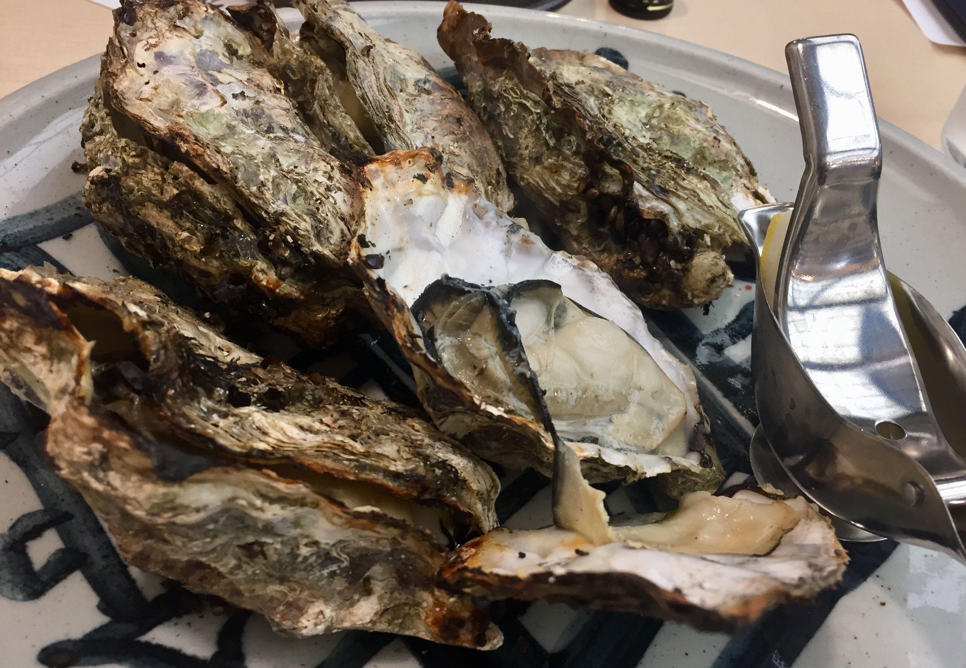 焼き牡蠣 はやしや 宮島 絶品