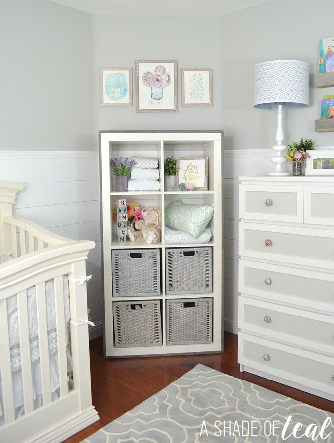 Rustic Glam Nursery {One Room Challenge}, The Reveal